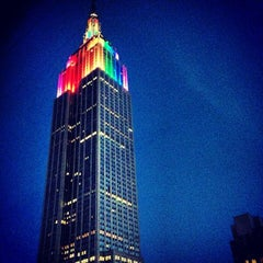 Photo taken at Empire State Building by Christopher R. on 7/1/2013