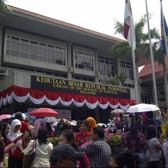 Photo taken at Embassy of the Republic of Indonesia by Irfan D. on 9/16/2012