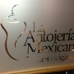 Photo taken at Antojería Mexicana by Allan L. on 1/17/2013