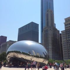 Photo taken at Millennium Park by Roman K. on 6/14/2013