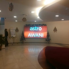 Photo taken at Astro Awani by WallSWAT Shahnaz F. on 12/26/2014
