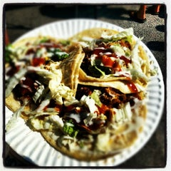 Photo taken at Nate's Taco Truck by Laine W. on 9/15/2012