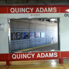 Photo taken at MBTA Quincy Adams Station by Zahidul H. on 11/4/2012