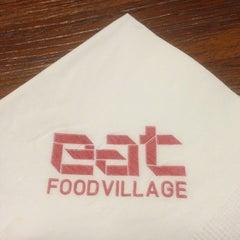 Photo taken at EAT Food Village by Cecelia P. on 6/12/2013