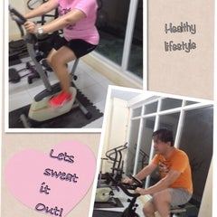 Photo taken at Shape-up Fitness Center by Annalyn C. on 7/31/2013