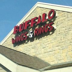 Photo taken at Buffalo Wings & Rings by Blake S. on 12/23/2012