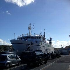 Photo taken at Porto di Santa Teresa di Gallura by Charlene C. on 10/16/2012
