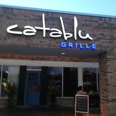 Photo taken at Catablu Grille by Donna G. on 10/4/2012