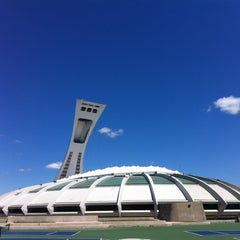 Photo taken at Stade Olympique by Chris B. on 7/11/2013