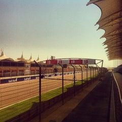 Photo taken at Bahrain International Circuit by Ali A. on 10/27/2012