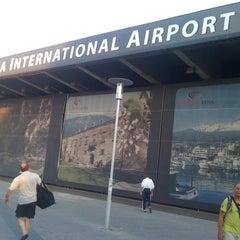 """Photo taken at Aeroporto di Catania Fontanarossa """"Vincenzo Bellini"""" (CTA) by Andrea P. on 8/7/2011"""