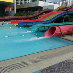 Photo taken at Sengkang Swimming Complex by Ct M. on 3/3/2013