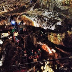 Photo taken at Crystal Cave by Kelsey L. on 8/17/2014
