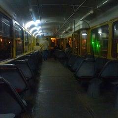 Photo taken at Трамвайна станція «Семена Скляренка» by Sergey K. on 9/18/2012