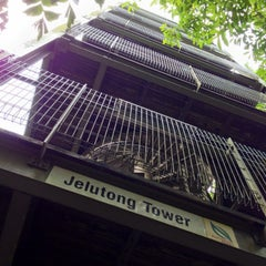 Photo taken at Jelutong Tower by Gerard T. on 5/9/2014