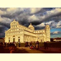 Photo taken at Piazza del Duomo (Piazza dei Miracoli) by Lando C. on 5/5/2013
