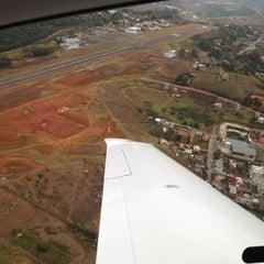 Photo taken at Aeroporto de Juiz de Fora / Serrinha (JDF) by Rodrigo B. on 9/23/2012