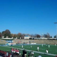 Photo taken at Yager Stadium by Bob S. on 10/28/2012