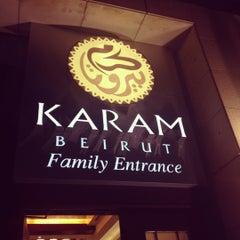 Photo taken at Karam Beirut | كرم بيروت by Afnan on 11/8/2012