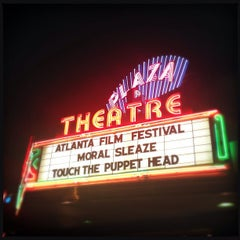 Photo taken at Plaza Theatre by Christopher H. on 3/22/2013
