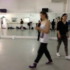 Photo taken at Pineapple Dance Studios by Daria V. on 11/1/2012
