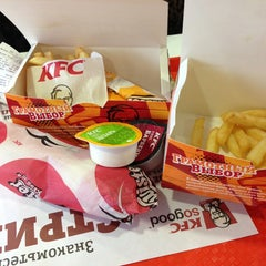 Photo taken at KFC by 🎀Аня🎀 on 3/17/2013
