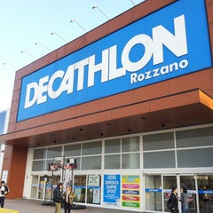 Photo taken at Decathlon by Luca M. on 4/12/2013