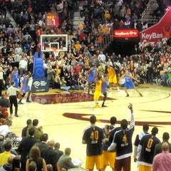Photo taken at Quicken Loans Arena by John T. on 2/3/2013