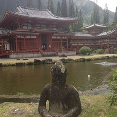 Photo taken at Byodo-In Temple by Jennifer W. on 4/26/2013