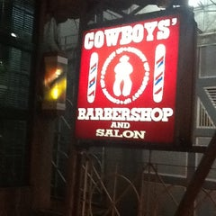 Photo taken at Cowboy Barber Shop by Deo J. on 1/3/2013