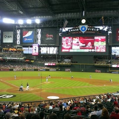 Photo taken at Chase Field by Rob S. on 7/13/2013