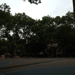 Photo taken at Chrystie St. Courts by Coby B. on 7/11/2013