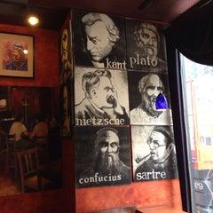 Photo taken at Café Descartes by Jack B. on 4/21/2014