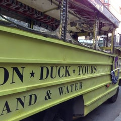 Photo taken at Boston Duck Tour (Prudential Center) by Steven D. on 10/20/2012