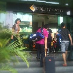 Photo taken at StarCity Hotel by Mohd Razlan S. on 9/18/2012