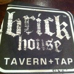 Photo taken at Brick House Tavern & Tap by Larry J. on 1/31/2013