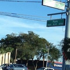 Photo taken at Park Blvd & Seminole Blvd by Don Mabura G. on 10/18/2012
