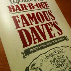 Photo taken at Famous Dave's by Michael D. on 1/31/2016