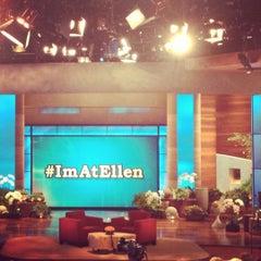 Photo taken at The Ellen DeGeneres Show by Mackie T. on 11/8/2012