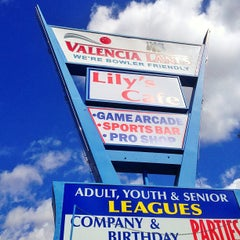 Photo taken at Valencia Lanes by Spencer S. on 4/2/2013