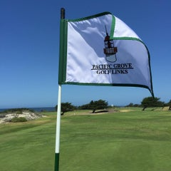 Photo taken at Pacific Grove Golf Links by Chuong P. on 9/4/2015