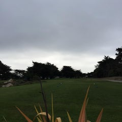 Photo taken at Pacific Grove Golf Links by Chuong P. on 7/2/2015