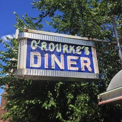 Photo taken at O'Rourke's Diner by Jeremy G. on 8/11/2013