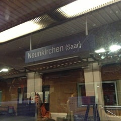 Photo taken at Neunkirchen (Saar) Hauptbahnhof by Michael H. on 1/15/2013