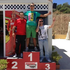 Photo taken at Karting Experience by Enrique C. on 6/23/2013