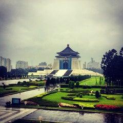 Photo taken at 中正紀念堂 Chiang Kai-Shek Memorial Hall by Sara E. on 12/18/2012