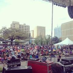 Photo taken at Baton Rouge Blues Festival by Brandi S. on 4/12/2014