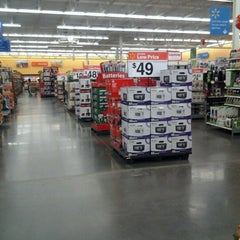 Photo taken at Walmart Supercenter by LaMont'e B. on 11/7/2012
