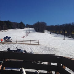 Photo taken at Victor Constant Ski Slope by Laurie S. on 3/15/2014