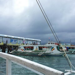Photo taken at Caticlan Jetty Port & Passenger Terminal by Arden G. on 2/3/2013